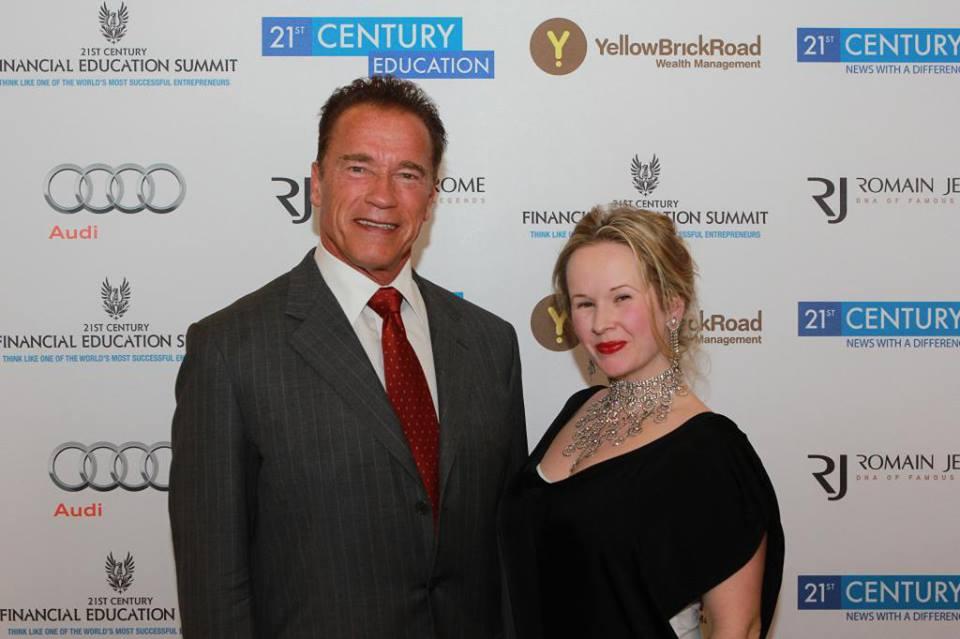 Eve and Arnold Schwarzenegger, Entrepreneur, Motivational Speaker, Movie Star